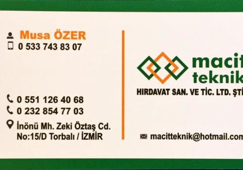 İzmir Torbalı Akü Bayi Macit Teknik